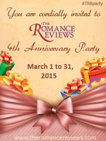 The Romance Reviews' 4th Anniversary Party in March!